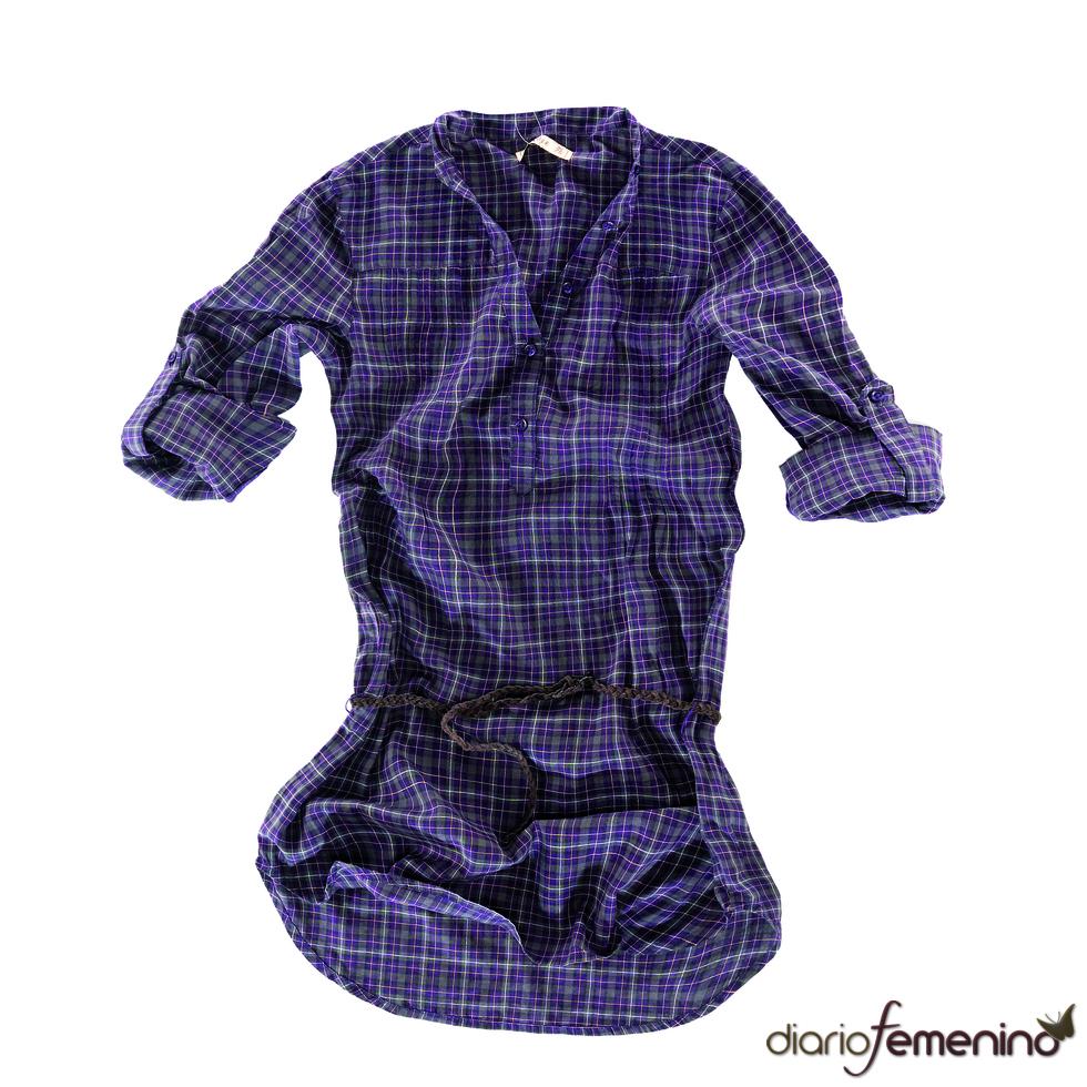 Vestido camisero de Pull and Bear
