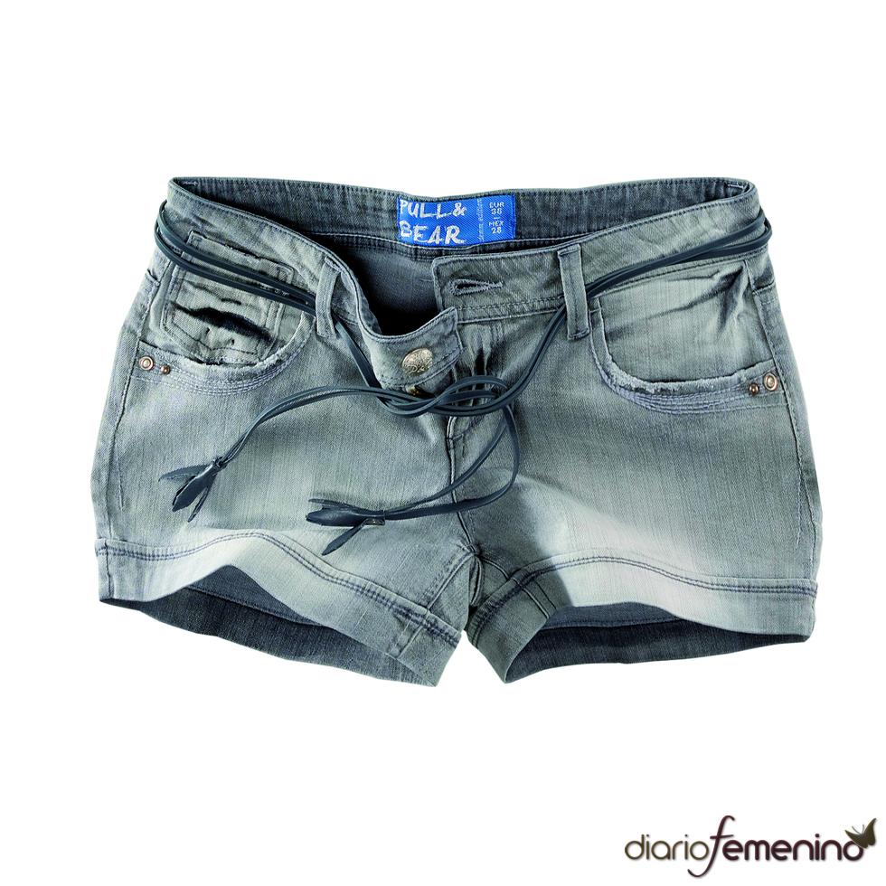 Shorts grises de Pull and Bear