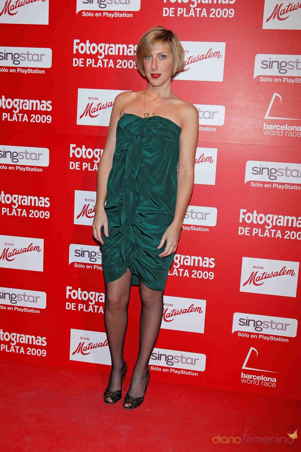 Cecilia Freire en los Fotogramas de Plata 2009