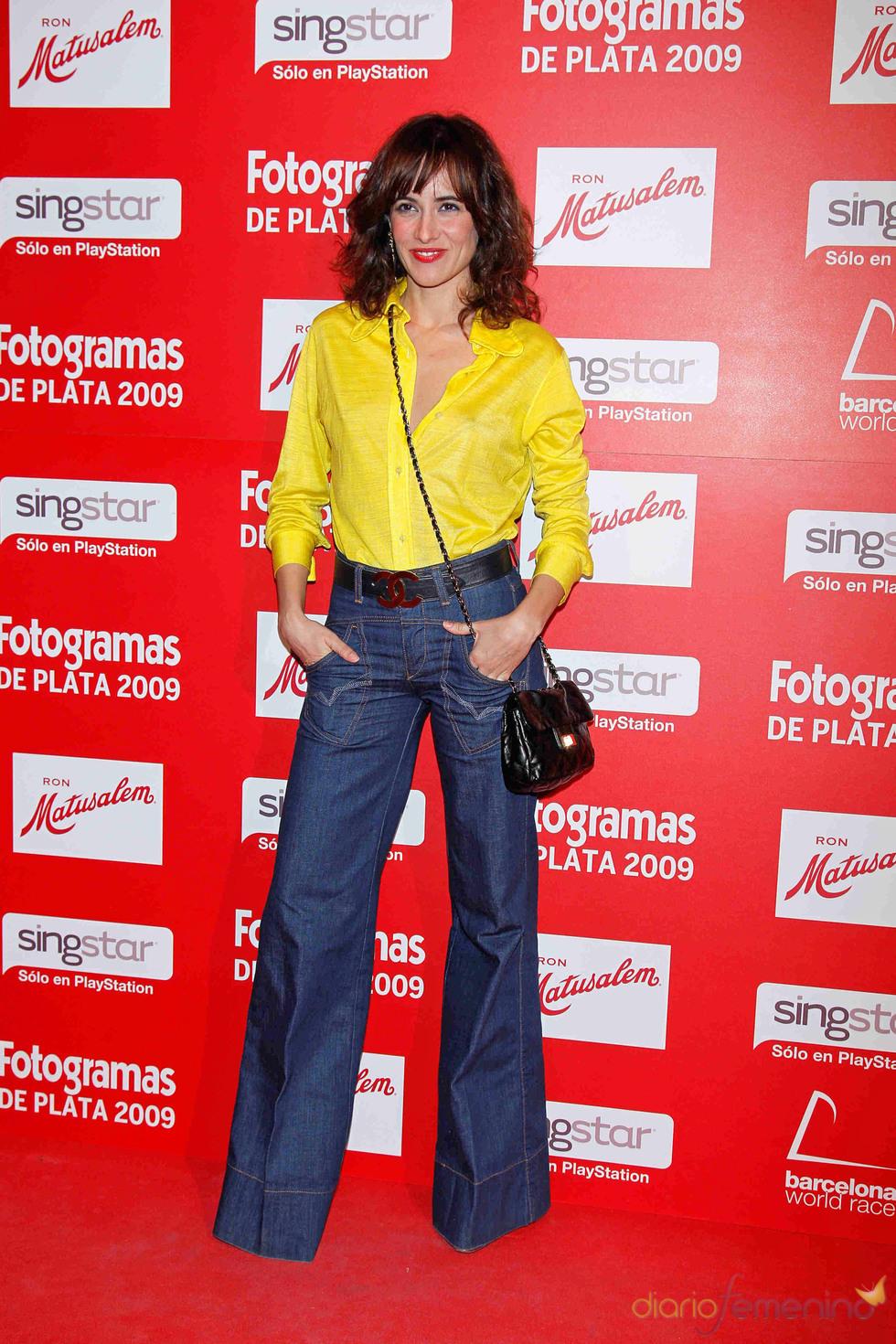 Ana Turpin en los Fotogramas de Plata 2009
