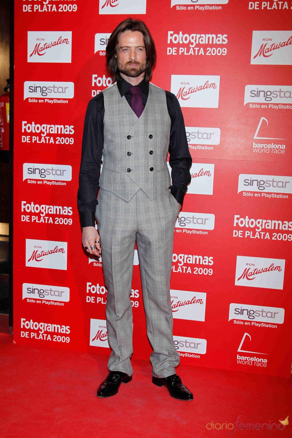 William Miller en los Fotogramas de Plata 2009