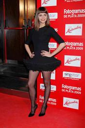 Macarena Gómez en los Fotogramas de Plata 2009