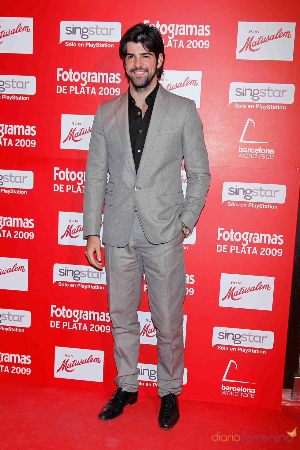 Miguel Ángel Muñoz en los Fotogramas de Plata 2009