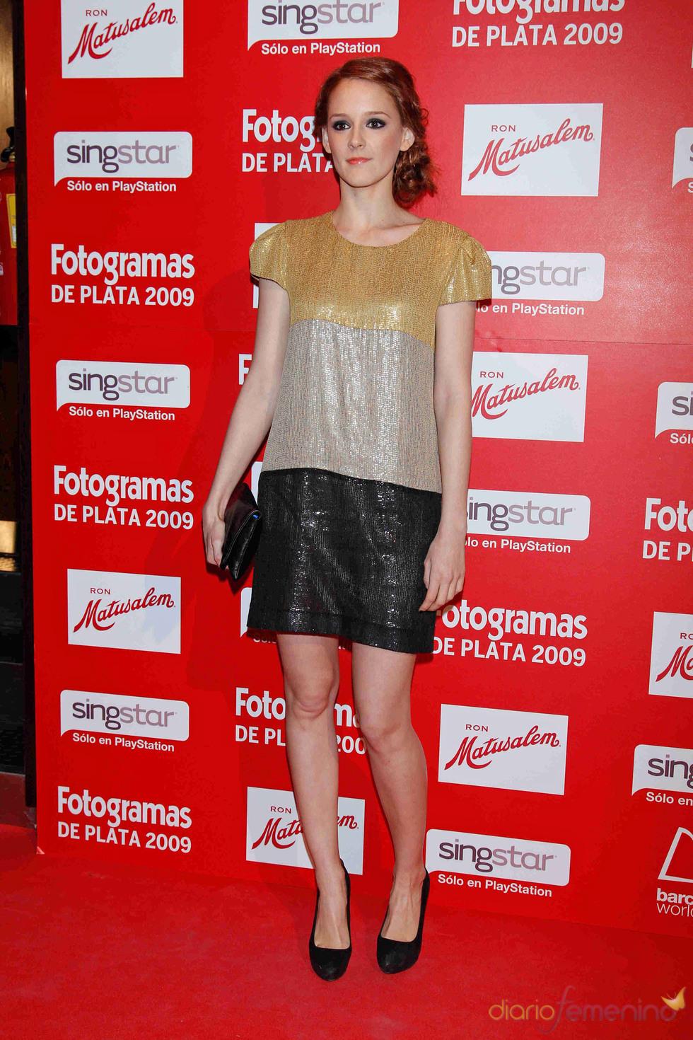 Ana María Polvorosa en los Fotogramas de Plata 2009