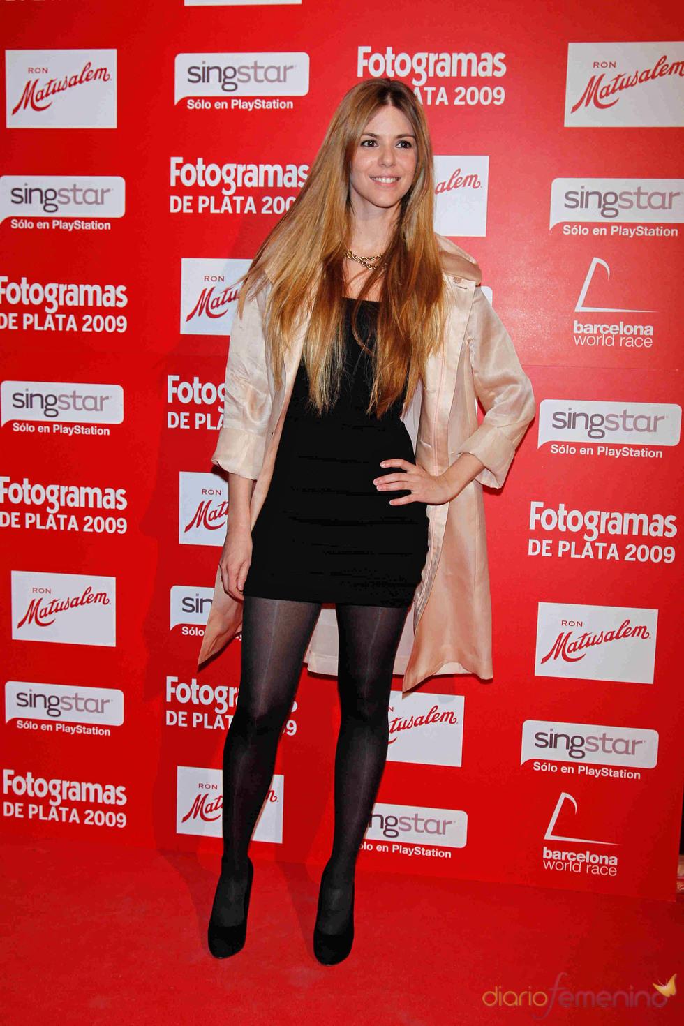 Fotogramas de Plata 2009: Manuela Velasco