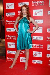 Fotogramas de Plata 2009: Cristina Castaño