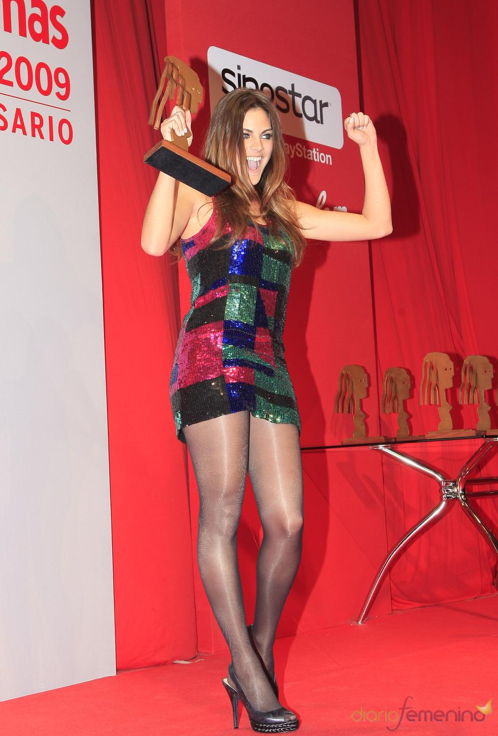 Amaia Salamanca recoge su Fotogramas de Plata 2009