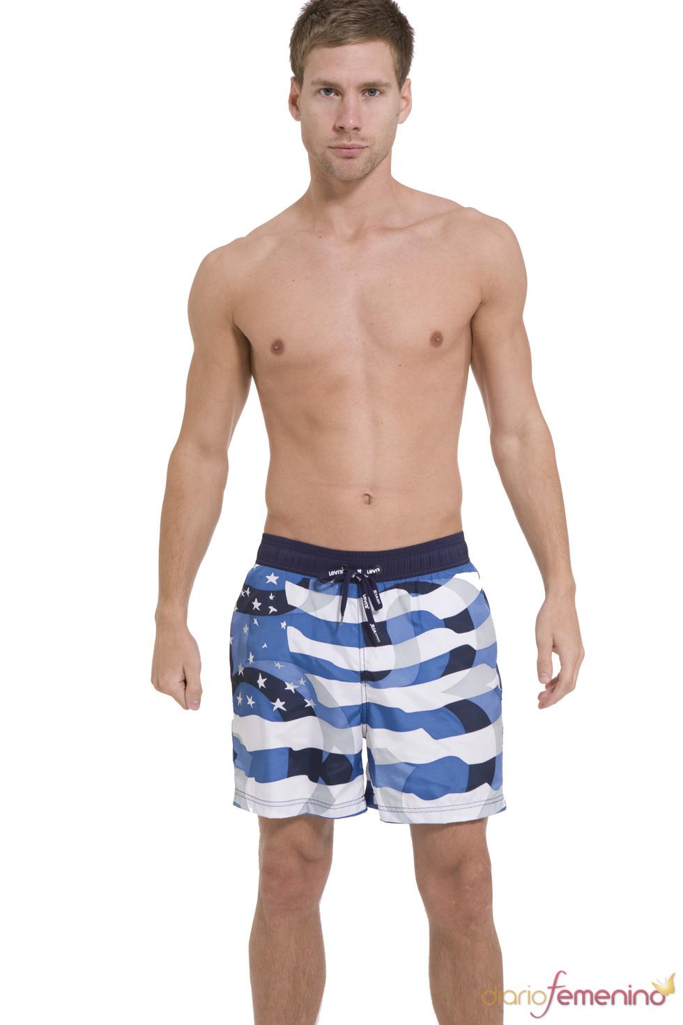Bañador marinero de la colección SS10 de Levi's