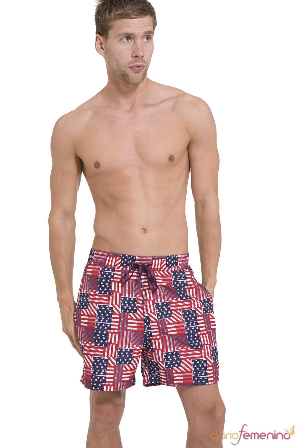 Bañador estilo americano de la colección SS10 de Levi's