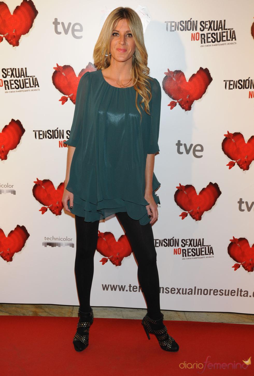 La modelo Natalia Álvarez