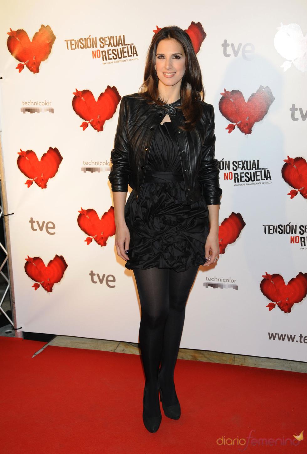 La cantante Nuria Fergó