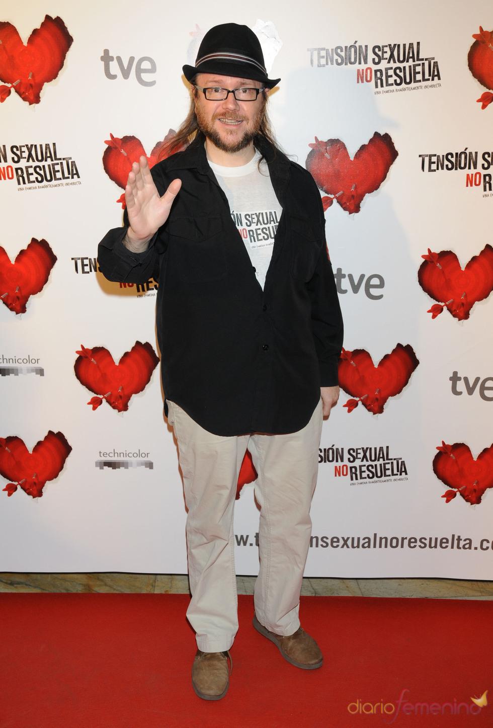 El actor Santiago Segura
