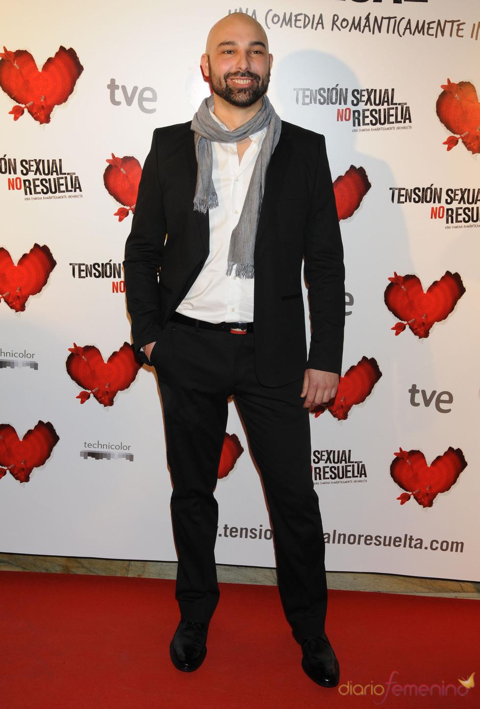 El actor Samuel Miró