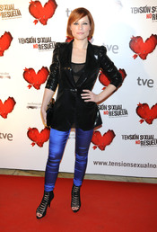 La cantante Soraya Arnelas