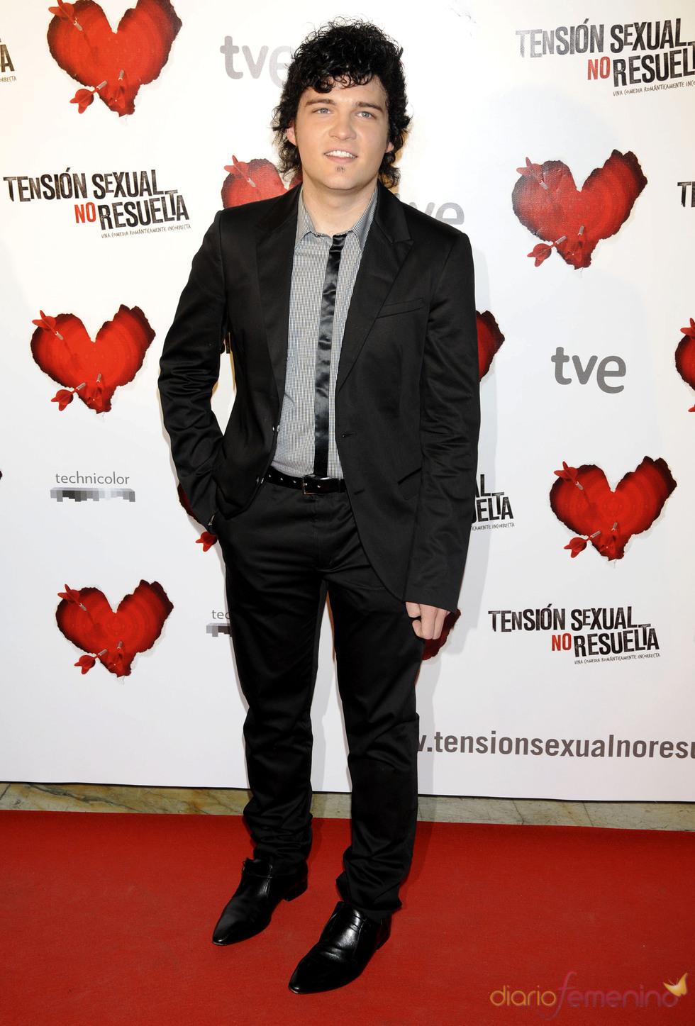 El actor Adam Jezierski