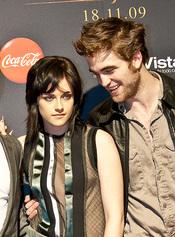 Robert Pattinson y Kristen Stewart en la premiere de 'Luna Nueva'