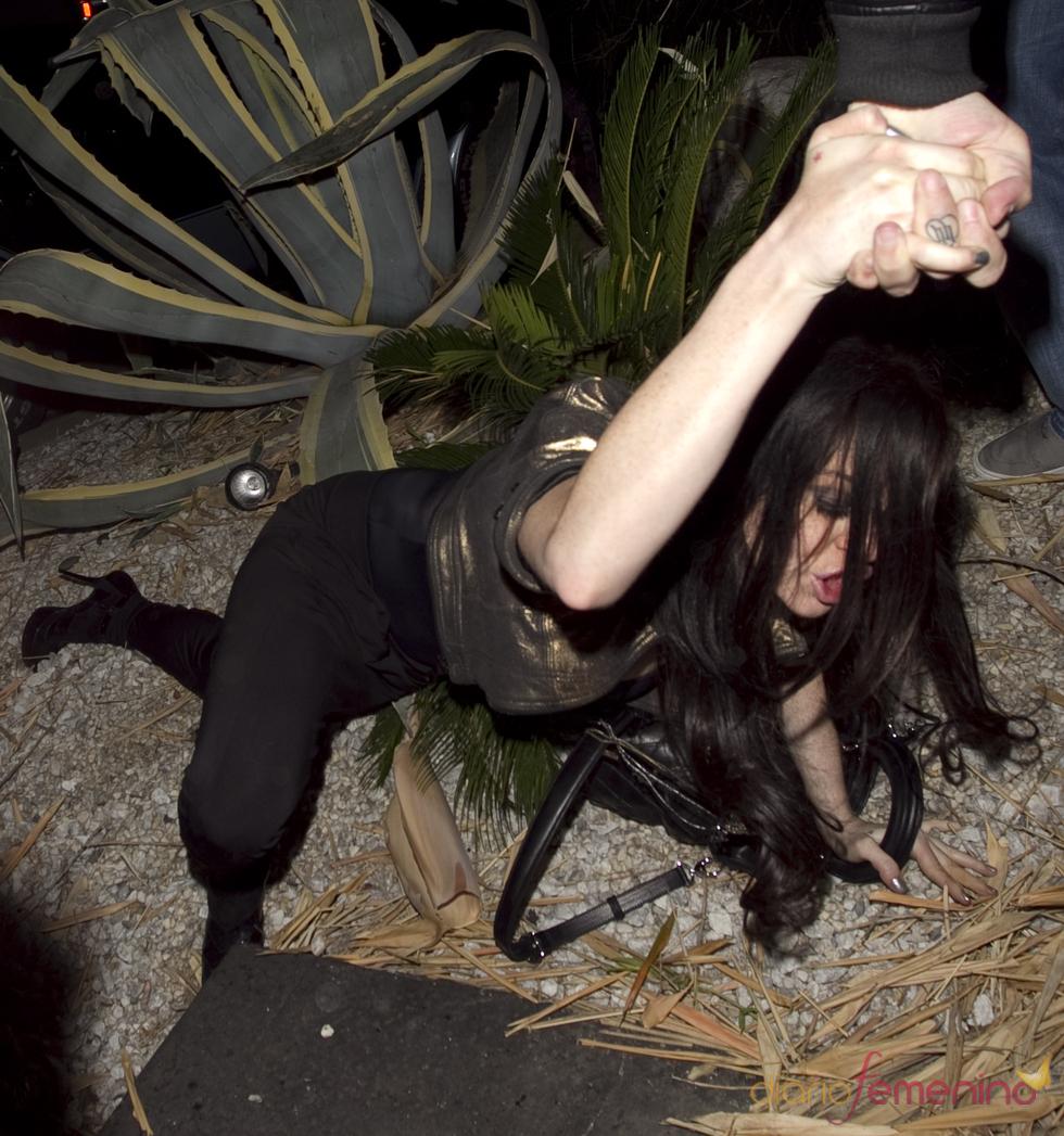 Lindsay Lohan sufre un tropiezo en Hollywood