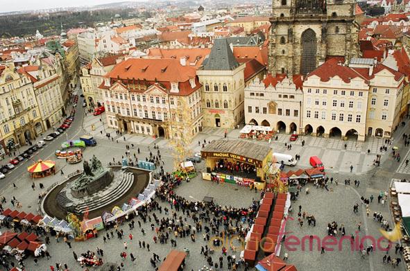 Plaza de la Ciudad Vieja, Praga