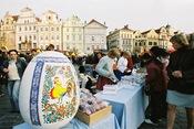 Huevo de Pascua en Praga