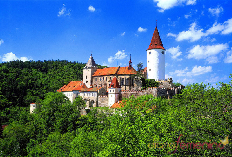 Castillo de Krivoklat en Praga
