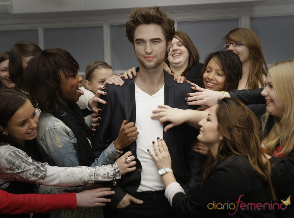 Robert Pattinson, de cera