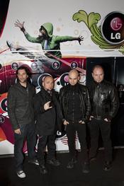 Sôber en la presentación de LG como patrocinador de Rock in Rio Madrid 2010.