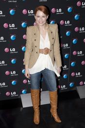 Soraya Arnelas en la presentación de LG como patrocinador de Rock in Rio Madrid 2010