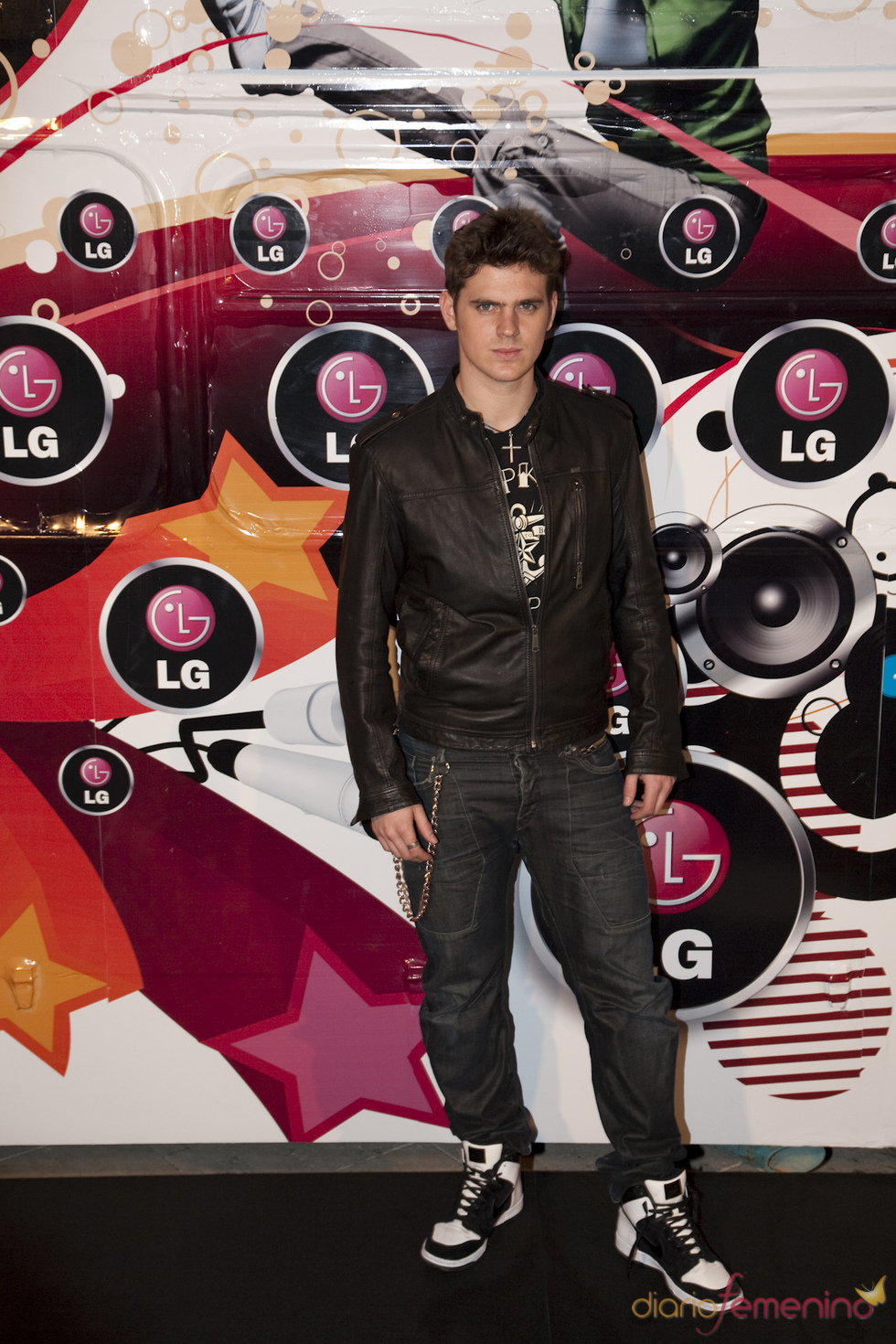 Gonzalo Ramos en la presentación de LG como patrocinador de Rock in Rio Madrid 2010