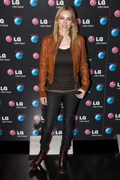 Kira Miró en la presentación de LG como patrocinador de Rock in Rio Madrid 2010
