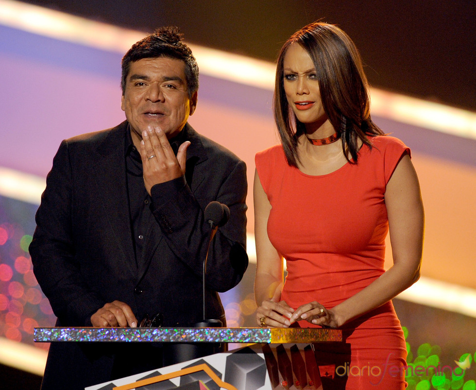 Tyra Banks y George Lopez