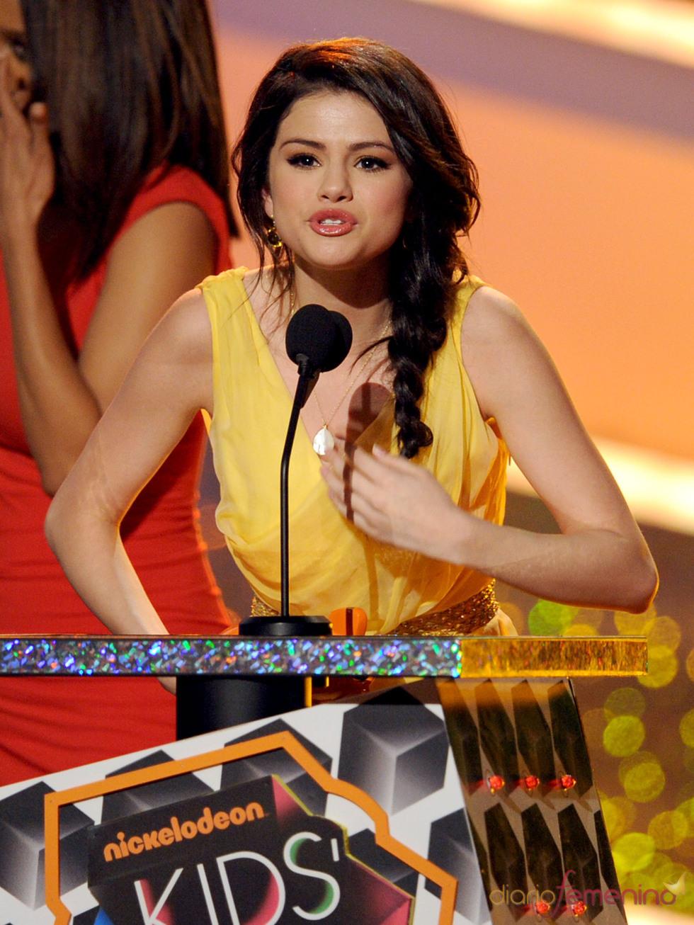 Selena Gomez en los Kids Choice Awards