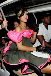 Rihanna en los Kids Choice 2010
