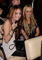 Miley Cyrus y su madre