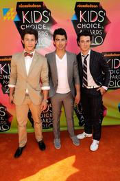 Nick Jonas, Kevin Jonas y Joe Jonas
