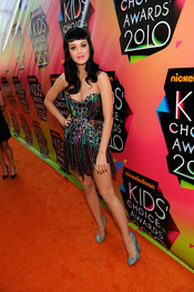 Katy Perry morena en los Kids Choice 2010