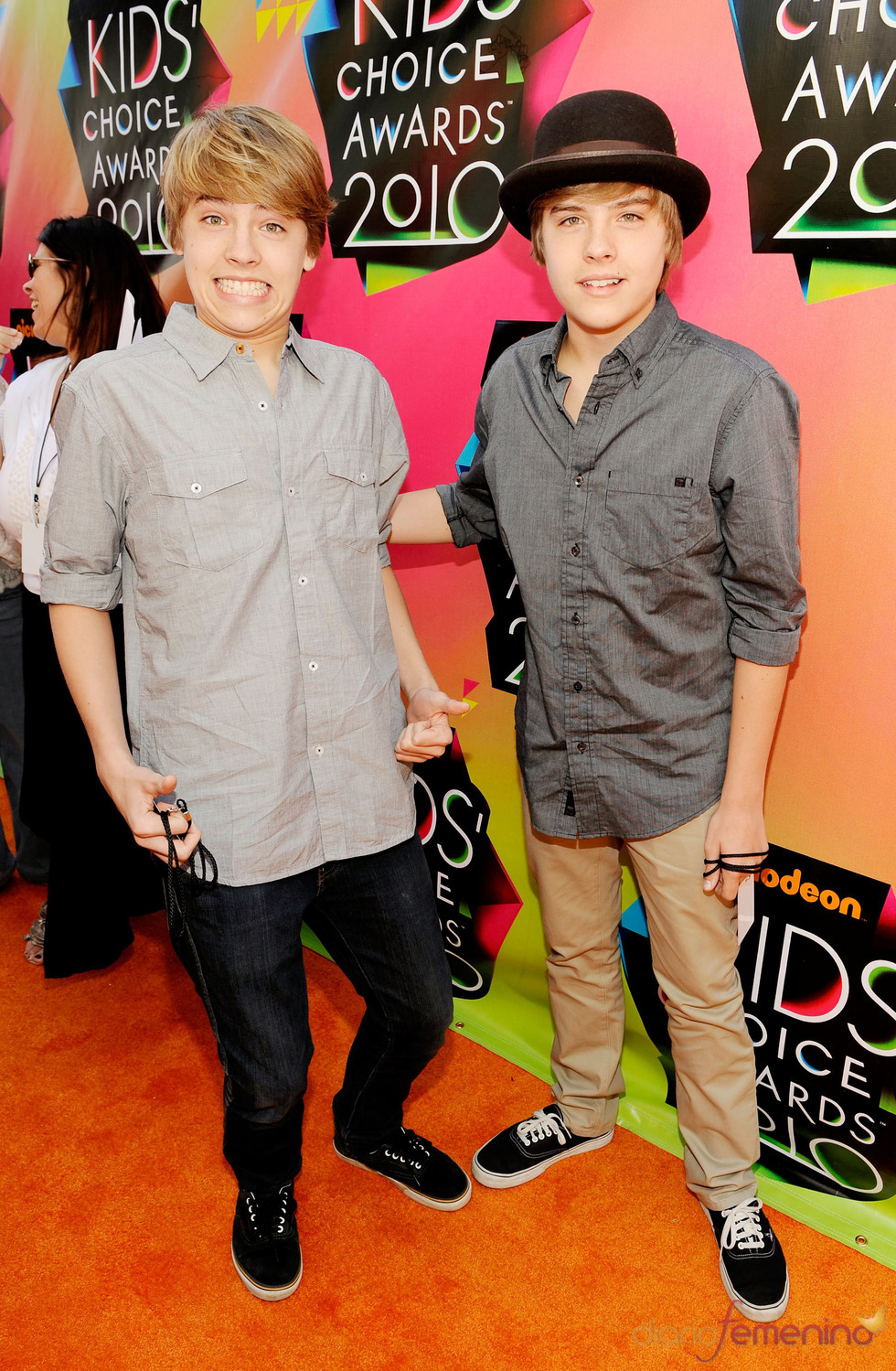Cole Sprouse y Dylan Sprouse