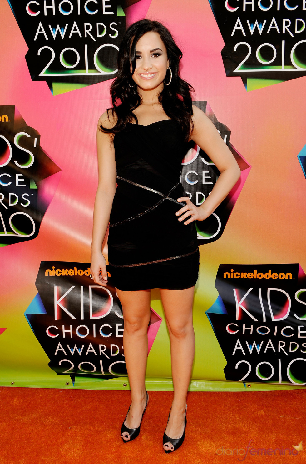 Demi Lovato en los Kids Choice 2010