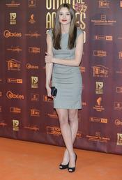 Dafne Fernández en los XIX Premios de la Unión de Actores