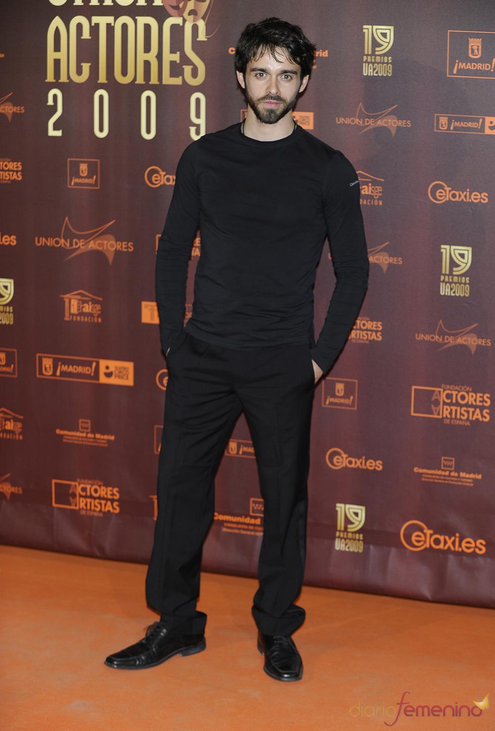 Alberto Amarilla en los XIX Premios de la Unión de Actores