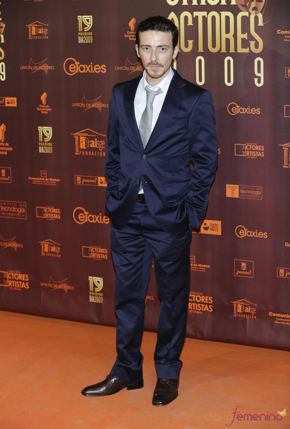 Victor Clavijo en los XIX Premios de la Unión de Actores