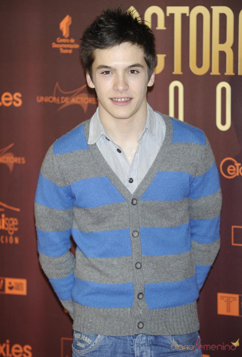 Ricardo Gómez en los XIX Premios de la Unión de Actores