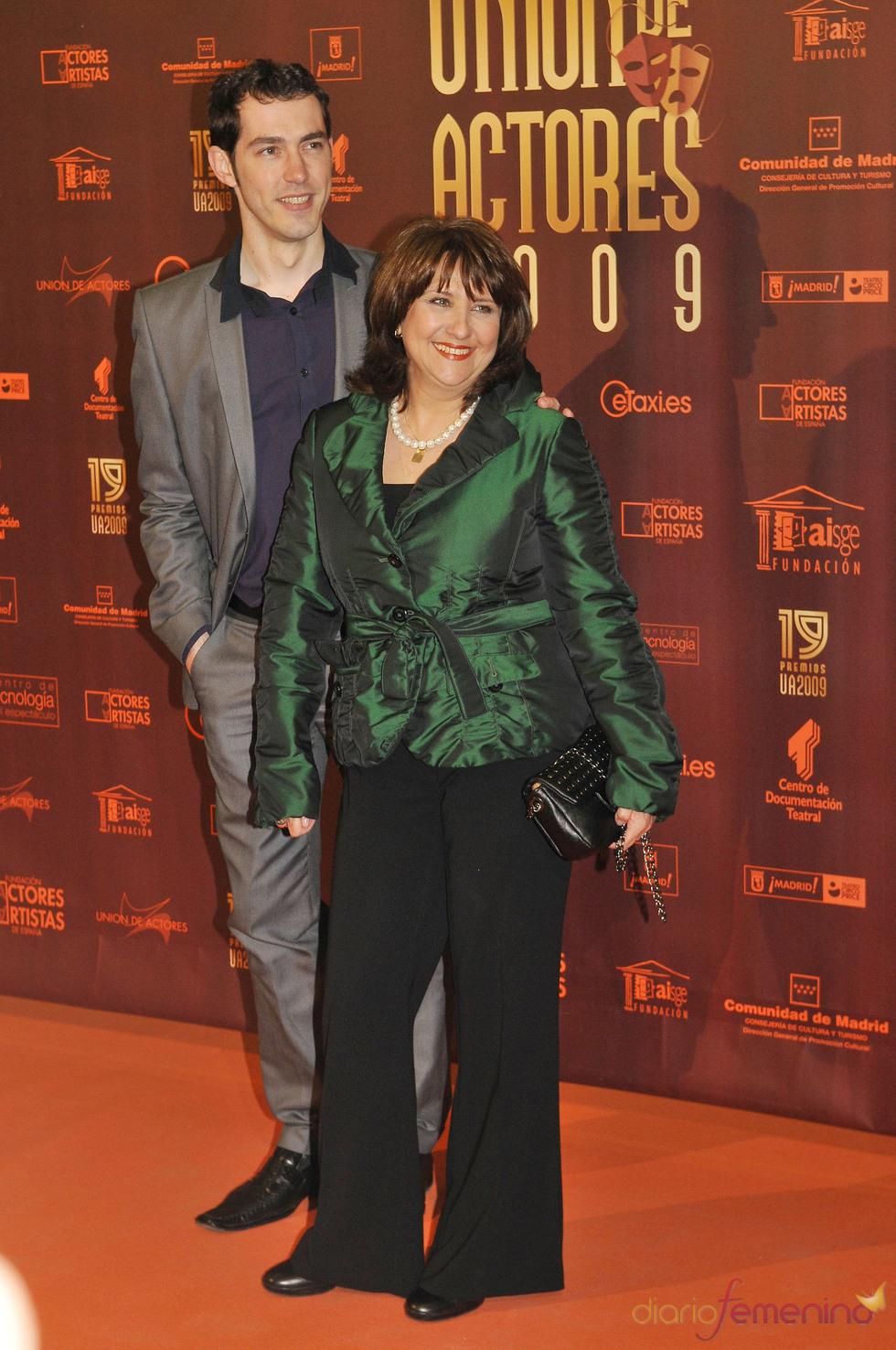Soledad Mallol en los XIX Premios de la Unión de Actores