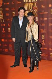 Silvia Tortosa en los XIX Premios de la Unión de Actores