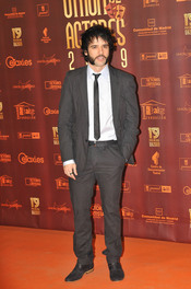 Raúl Peña en los XIX Premios de la Unión de Actores