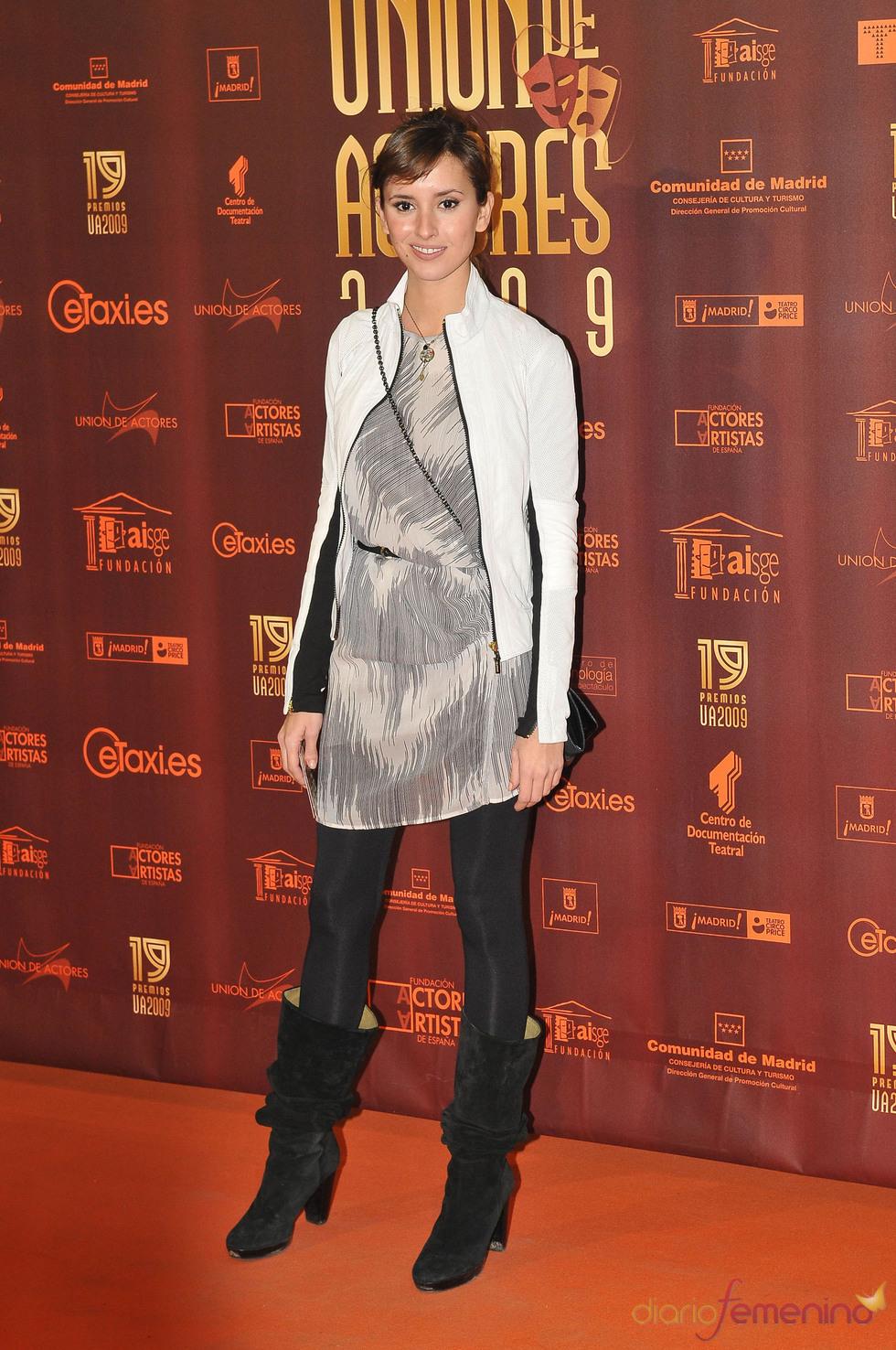 Marina San José en los XIX Premios de la Unión de Actores