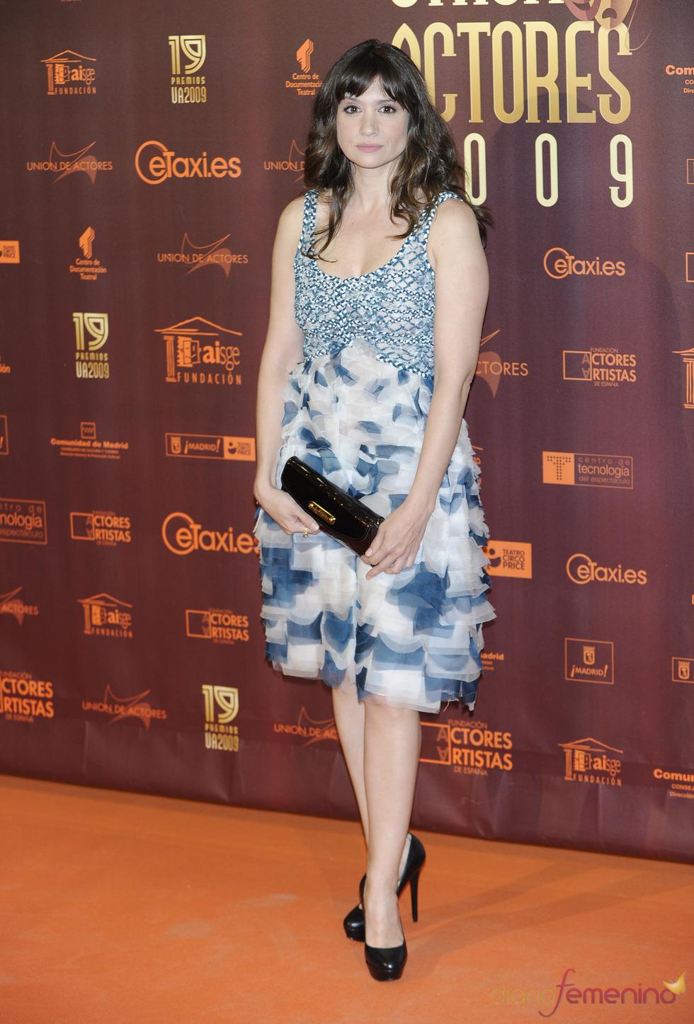 Maria Boto en los XIX Premios de la Unión de Actores