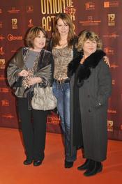 La familia Goyanes en los XIX Premios de la Unión de Actores