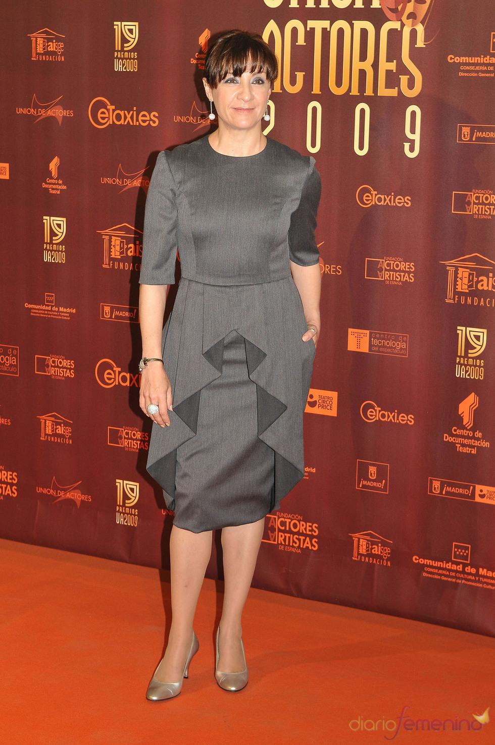 Blanca Portillo en los XIX Premios de la Unión de Actores