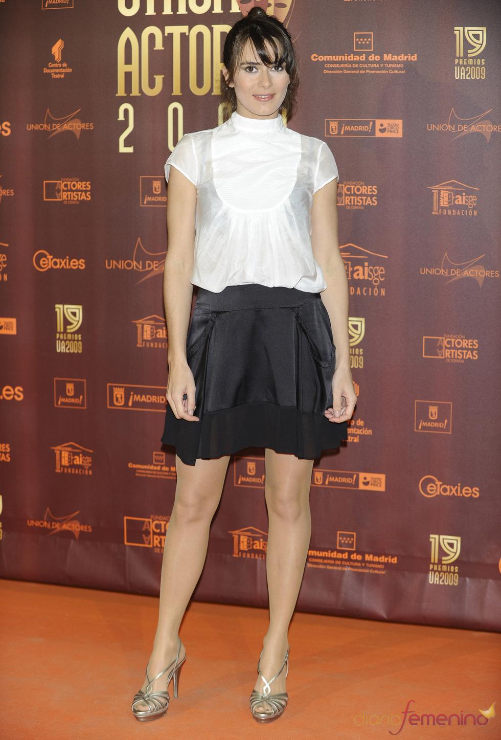 Anna Allen en los XIX Premios de la Unión de Actores