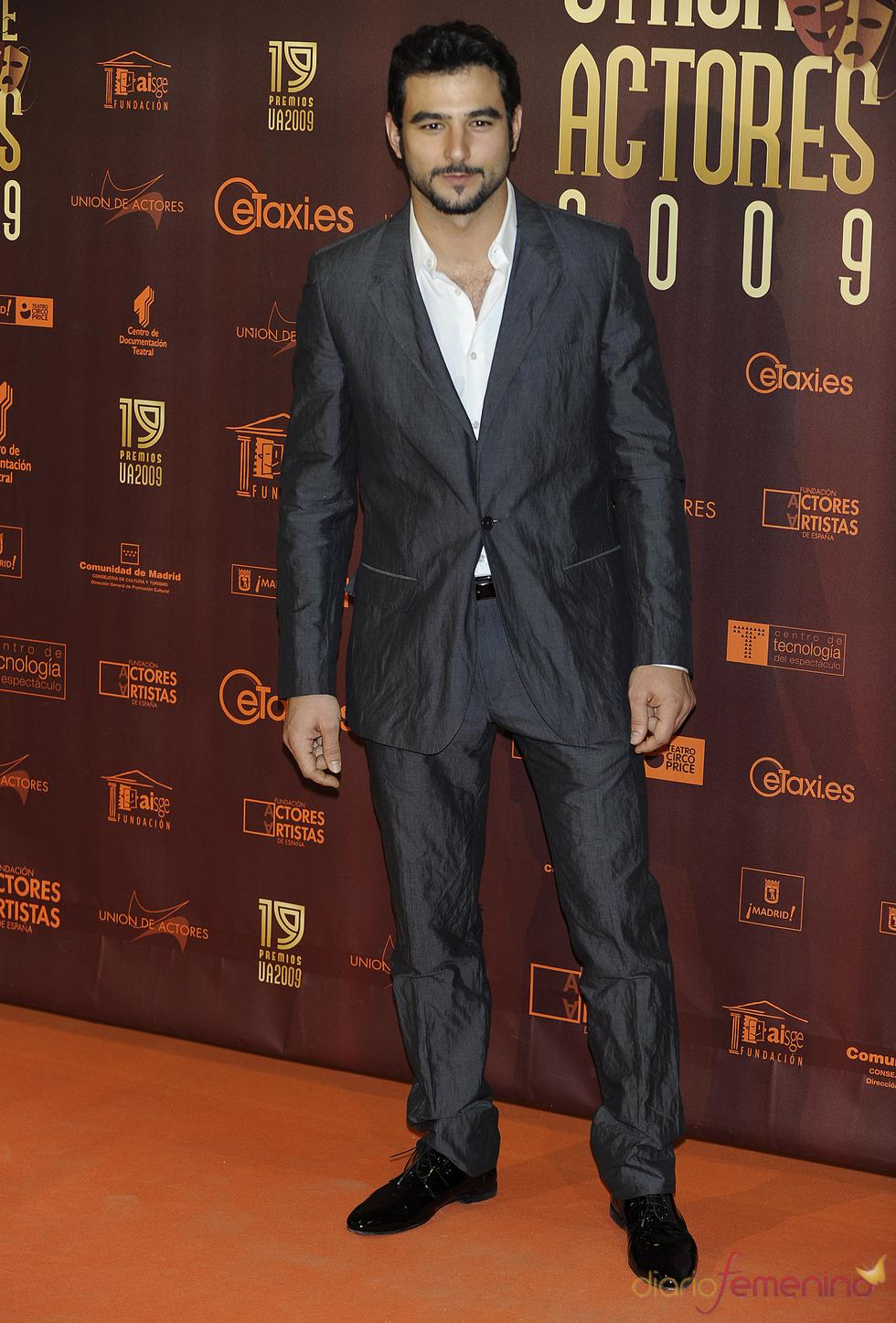 Antonio Velázquez en los XIX Premios de la Unión de Actores